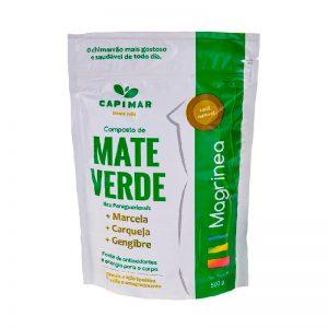Composto Erva Mate Capimar Magrínea Verde 500g